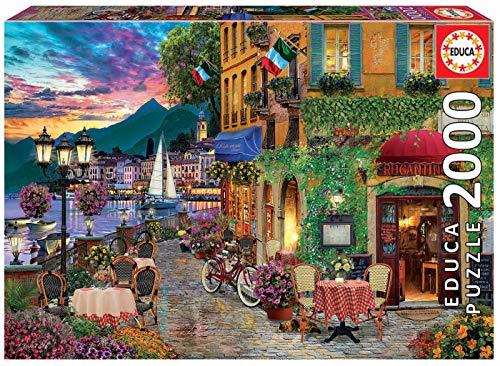 Educa Puzzle Glue - Educa 2000pc Puzzle Italian Fascino