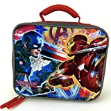 Marvel Captain America Civil War Rectangular Insulated Lunch Box by Fast Forward