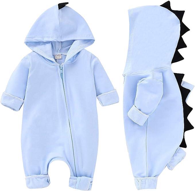 Amazon.com: Conjunto de pijama con capucha para recién ...