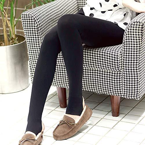京造 加厚加绒抗起球红外发热踩脚裤打底裤袜连裤袜 黑色 Beijing made thick and velvet anti-pilling infrared fever trousers, underpants, socks and pantyhose black