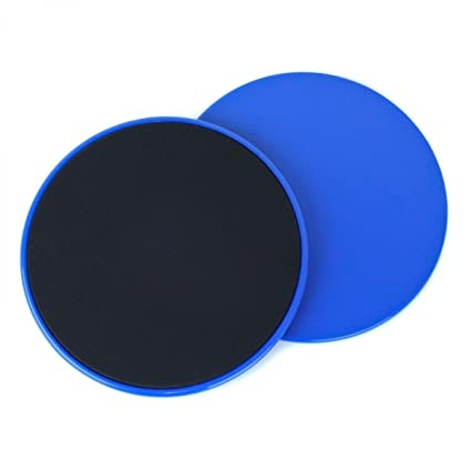 42b8ac1df6ac Yolink Gliding Discs Core Sliders (Blue) for Exercise and Fitness. Dual  Sided Use