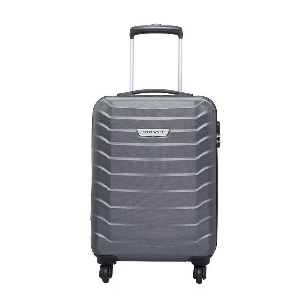 Aristocrat Juke Polycarbonate 55.5 Cms Grey Hard Sided