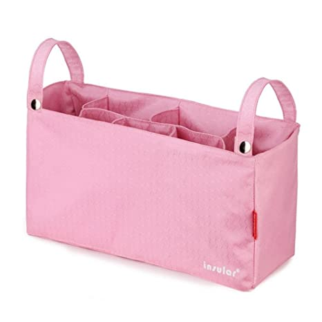Carrito de bebé Stroller organizador bolsa de pañales para cochecito de bebé cochecito Organizador Bolsa de