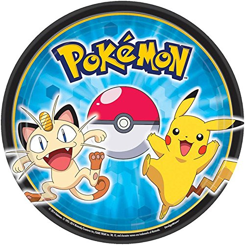 Pokemon Dessert Plates - Party City Ash Costume