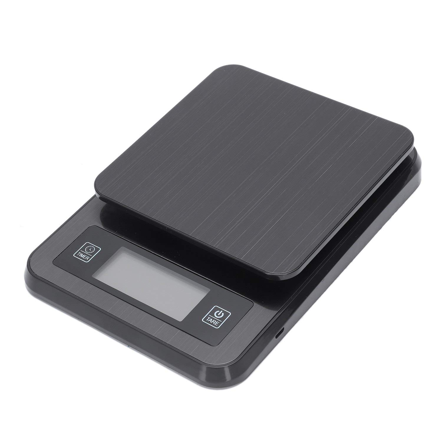 Moligh doll Stainless Steel Coffee Scale Multi-Function Timing with Thermometer Kitchen Scale 2Kg/0.1G Electronic Scale by Moligh doll