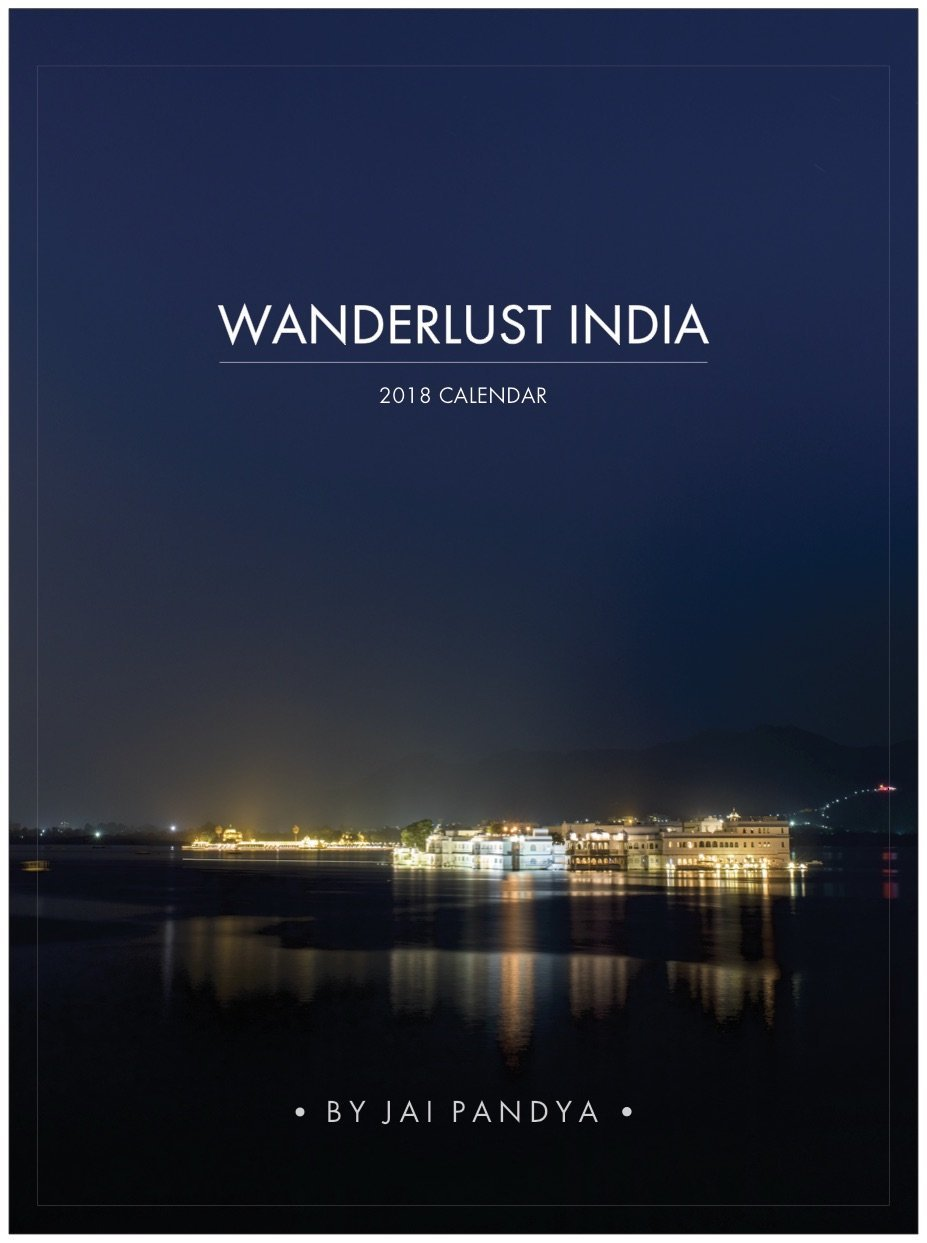 Jai Pandya Desk Calendar 2018 Wanderlust India Travel Photography Moon  Calendar With Postcards | Perforated Prints On High Density Art Paper:  Amazon.in: ...