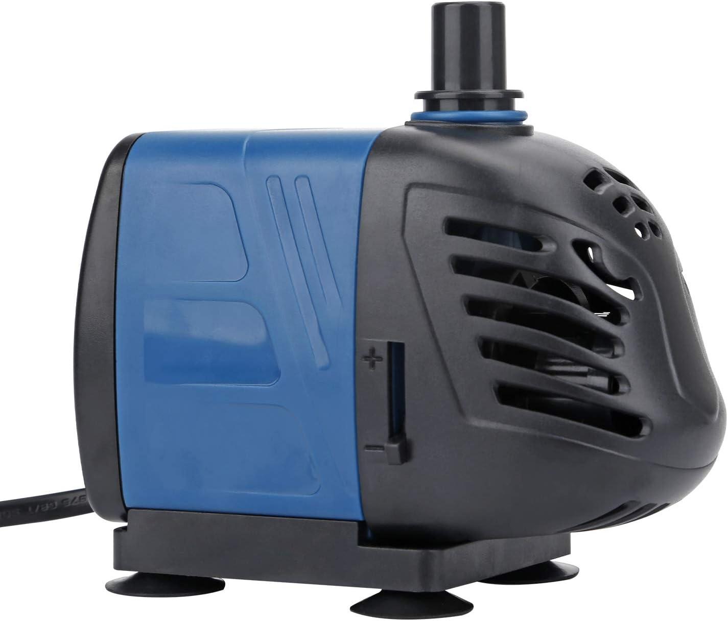 Uniclife 320 GPH Bomba de Agua Sumergible/en línea con Cable de 6 ...