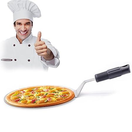 Johlycao Premium Pizza Peel (Acero Inoxidable, cocción de Cocina ...