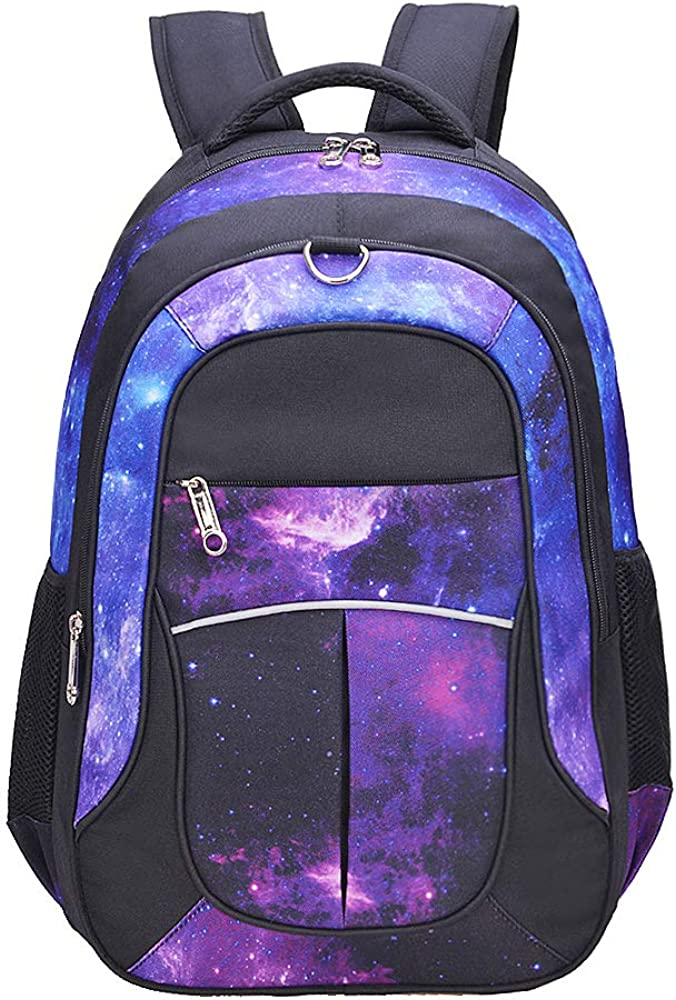 """Girls by Fenrici 18/"""" Durable with 10 Compartments Kids Backpack for Boys"""