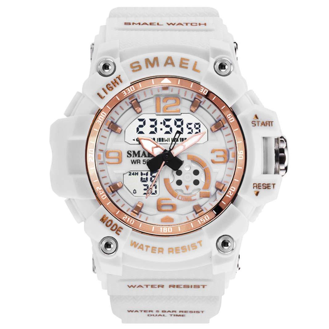 Women s Digital Watch, Outdoor LCD Waterproof Sports Watch Multiple Functions Watches for Women