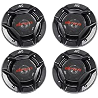 (4) JVC CS-DR620 6.5 600 Watt 2-Way Car Audio Speakers