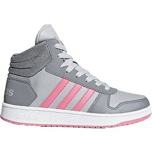 basket adidas rose fille