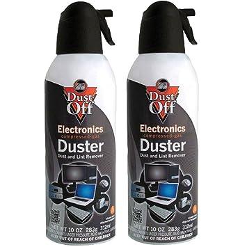 Amazon.com: Dust-Off Gas Comprimido Duster, 4unidades ...