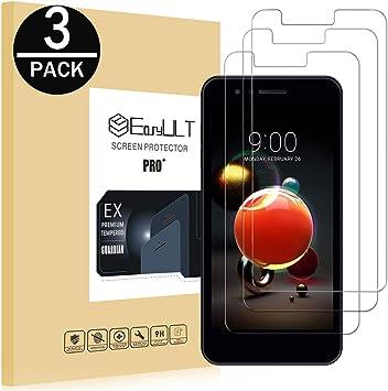EasyULT Protector de Pantalla para LG K9 [3 Piezas], Cristal ...
