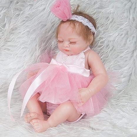 6ce27de245ede Belle poupée Reborn Baby Reborn Réaliste Poupées Réaliste Nouveau-Né Bébé  Poupée Fille Couchage avec