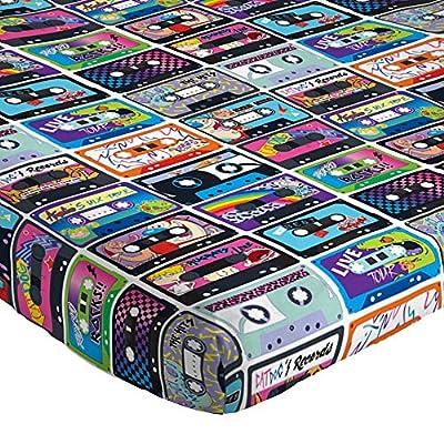 Nickelodeon Splat/Nick 90's Mix Tape Super Soft 3 Piece Twin Sheet Set: Toys & Games