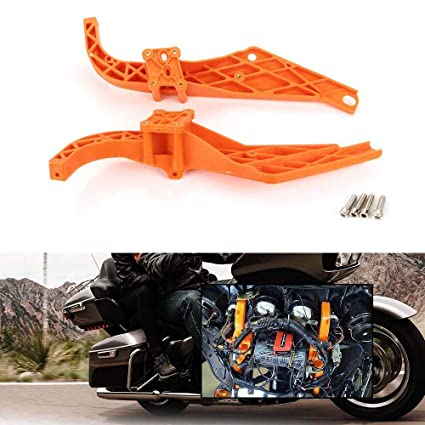 Heavy-Duty Inner Batwing Fairing Support Brackets For Harley Electra Glide FLHT