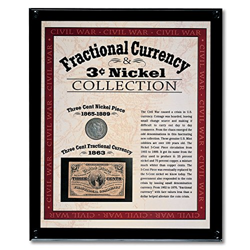 19th Century Currency - American Coin Treasures 19th Century Fractional Currency & 3-Cent Nickel Collection Coin