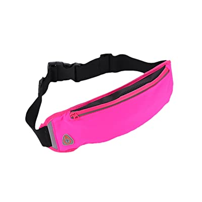 hot sale 2017 ultra-thin Outdoor Running Belt Sports Pockets Waterproof Travel Waist Bag for Running Hiking Cycling