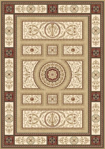 "picture of Home Dynamix Machine Made Traditional 2' 7"" x 7' 6"" Gold Regency Area Rug"