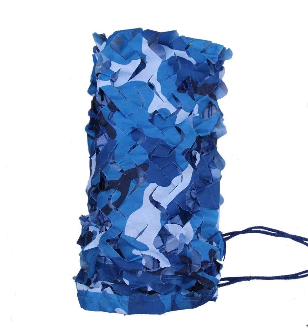 68m JJWZW Filet de Camouflage Oxford Filet de Camouflage de Tissu d'Oxford Filet de Camouflage Marin Filet de Camouflage de Camping approprié à la Chasse au Bois pour Les Jardins d'ombre extérieurs