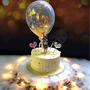 Dry Ice Cake Stand,Cake Decorating Tool for Smoke Effect, Food-grade Plasic