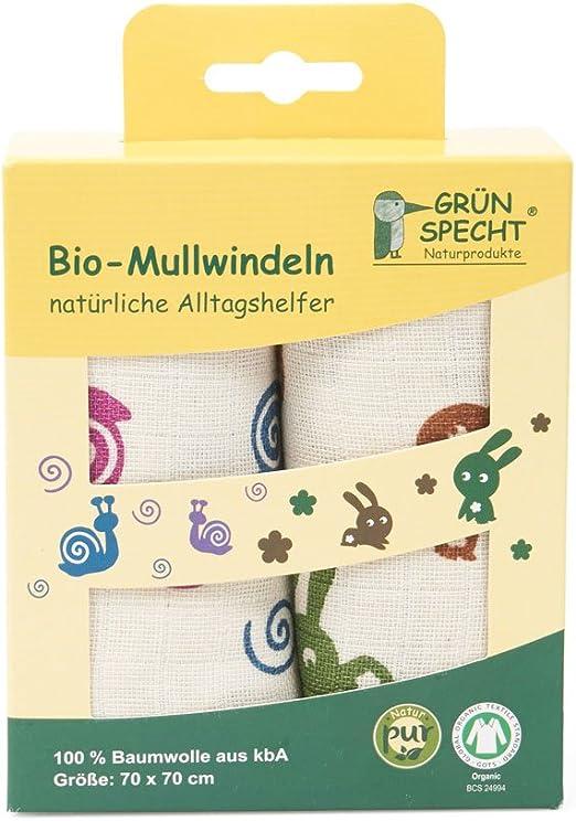 GR/ÜNSPECHT Naturprodukte 690-V3 Langes en gaze bio Multicolore 140 g