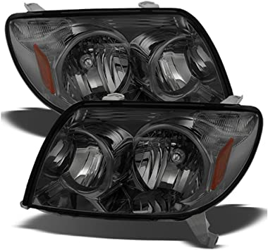 For Toyota 4Runner Sport SUV Replacement Black Headlights Driver//Passenger Head Lamps Pair New