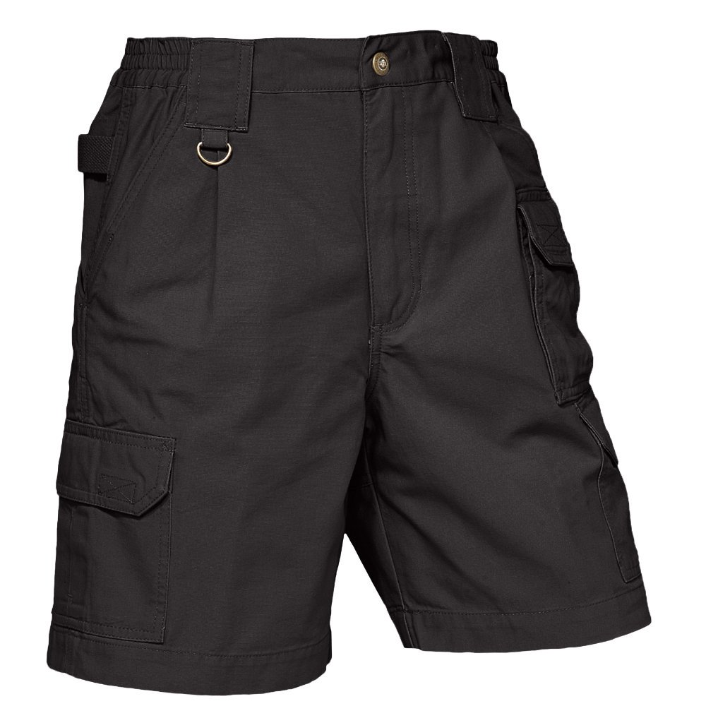 5.11 Tactical #63306 WoMen's New Fit Shorts 6) A.C. Kerman - LE 63306-019-BLACK-6-