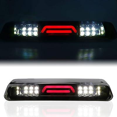 LED Third 3rd Brake light for 04-08 Ford F150 07-10 Ford Explorer 06-08 Lincoln Mark LT, Rear Cargo Lamp High Mount Stop light (Smoke): Automotive