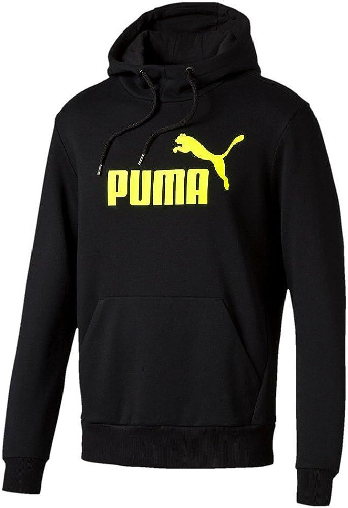 Puma ESS N.º 1Sudadera con Capucha, algodón, Color Negro, tamaño Mediano