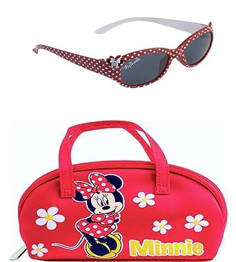 Disney Minnie Maus Sonnenbrille und Gläser Fall Set hPr3Y
