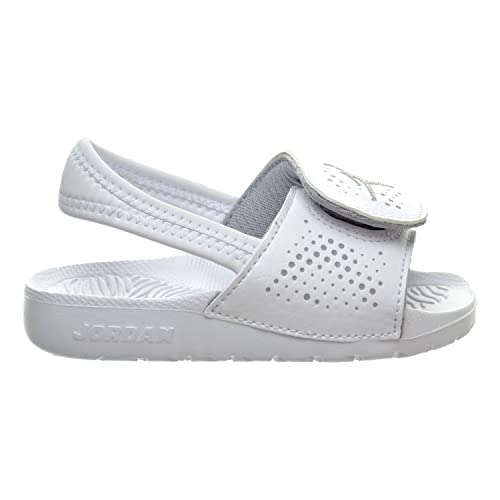 6eeb0d2e4c61f Jordan Hydro 5 BT Toddler s Sandals White Wolf Grey 820261-100 (7.5 ...