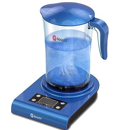 GOSILO - generador de agua alcalina de hidrógeno, jarra de agua alcalina de hidrógeno,