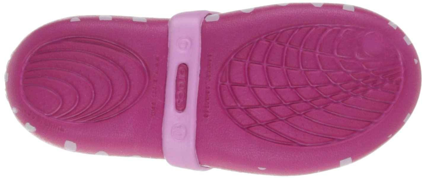 Crocs Keeley Minnie Flat (Toddler/Little Kid),Candy Pink/Carnation,11 M US Little Kid by Crocs (Image #3)