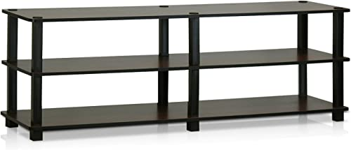 Furinno Turn-S-Tube No Tools 3-Tier Entertainment TV Stands