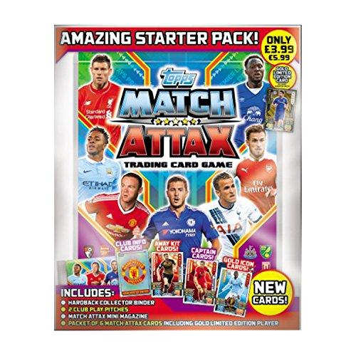 Topps Match Attax Barclays premier league 2016 2017 starter binder pack UK