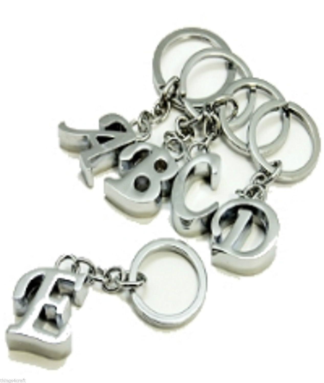 5da3f8020c56 Porte-clés Porte-clés Alphabet Lettre - Initiale Charme, A  Amazon.fr   Bagages