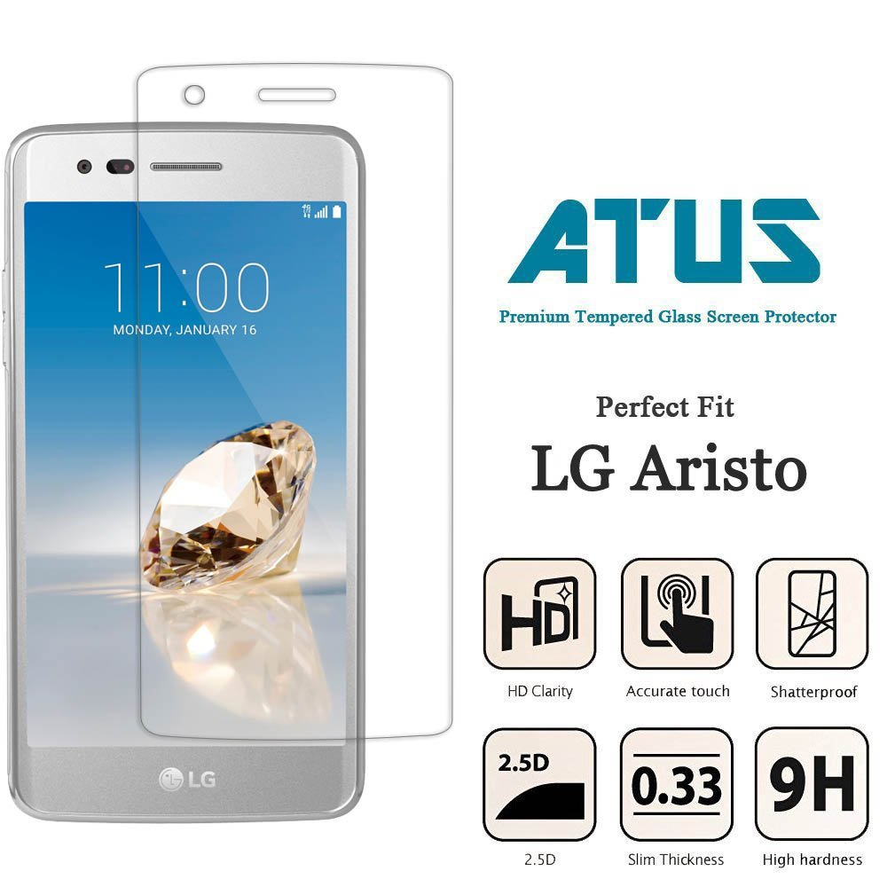 Best 5 LG Aristo Tempered Glass Screen Protector
