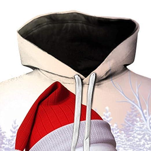 Amazon.com: Sunfree Mens Autumn Winter Christmas Elk Printing Long Sleeve Sweatershirt: Clothing