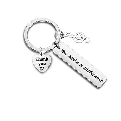 Amazon.com: ENSIANTH - Llavero de regalo para profesor de ...