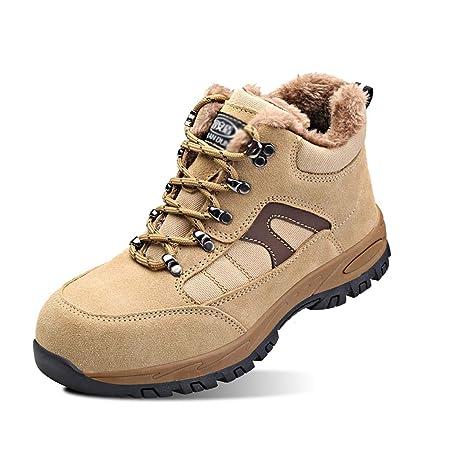 Zapatos de seguridad For hombre de la nieve botas de ...