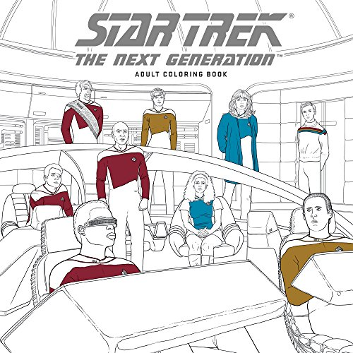 Star Trek: The Next Generation Adult Coloring -
