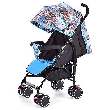 QQB &Carro Plegable Carrito de bebé portátil Mini Paraguas para niños Carrito (Color : 2