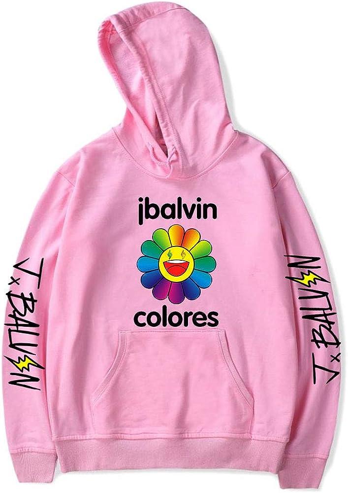 2020 J Balvin Sudadera Unisex Pullovers Mujeres Hombres Sudaderas Harajuku Streetwear Colores Ropa de Moda