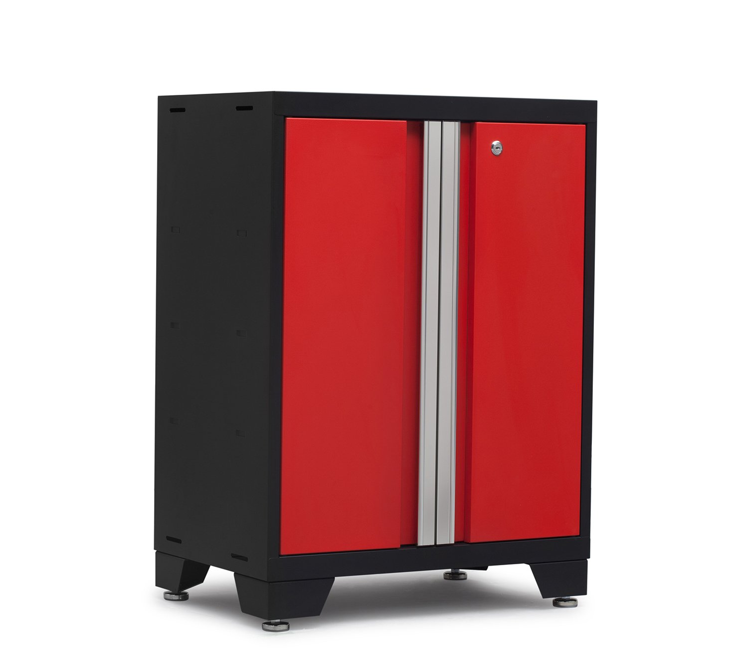 Red NewAge Products 50202 Bold 3.0 Series Base Cabinet, Red