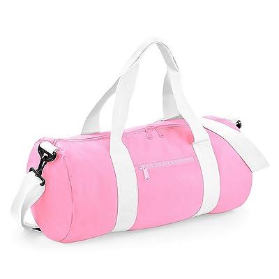 Bagbase Plain Varsity Barrel/Duffel Bag (20 Liters)