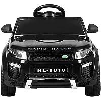 RIGO Kids RANGE ROVER EVOQUE Inspired Ride On Toy Car Remote Control 12V Battery-Black