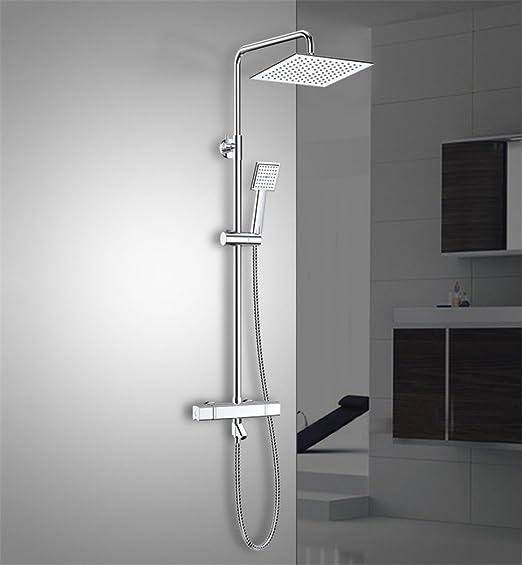 MAFYU columna de duchas Sistema De Regadera Termostática Control ...