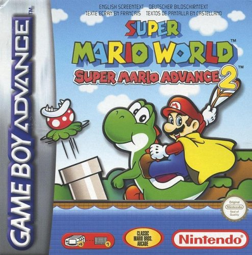 super mario world advance - 1